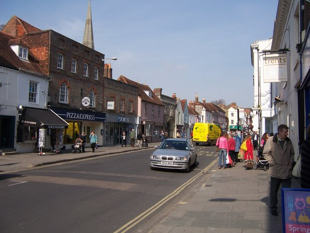 South St Chichester Colin Babb Geograph Britain And