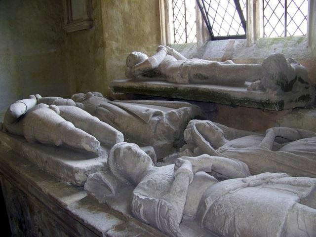 Effigies, The Church of All Saints, Nunney