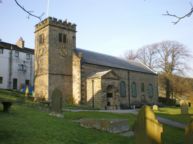 The Parish Church of St Mary, Newchurch-in-Pendle