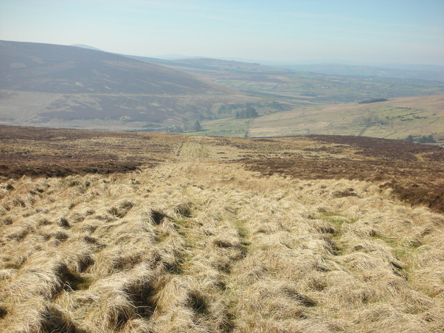 """""""Old Coach Road"""" As Viewed From The West Of Carntogher"""