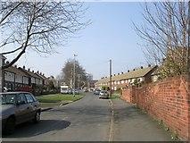 SE5023 : Garden Lane - Cow Lane by Betty Longbottom