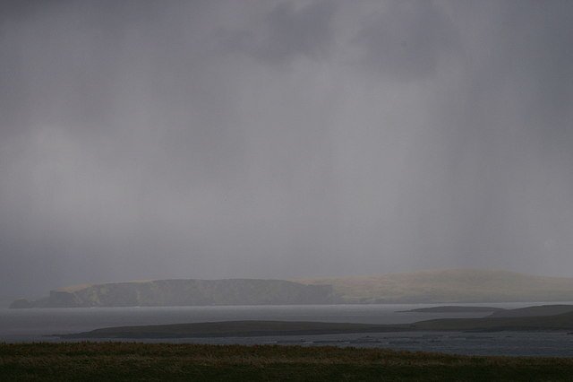 Passing hail showers, Uyeasound