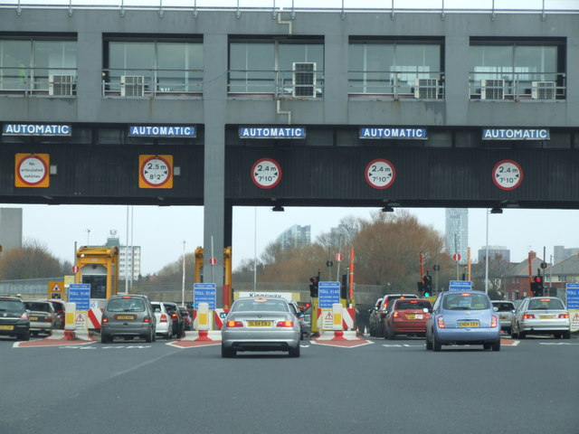 Entrance to Kingsway Tunnel