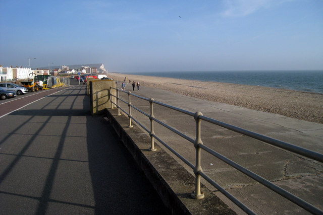 Seafront at Seaford