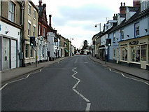 TM3863 : Saxmundham High Street looking south by John Goldsmith