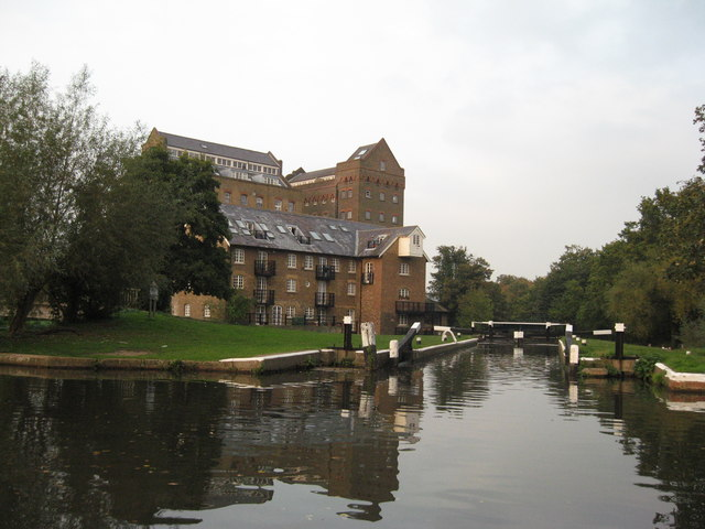 Coxes Mill, River Wey Navigation