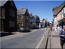 ST0207 : Cullompton : Fore Street by Lewis Clarke