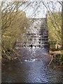 SK2776 : Small reservoir near Barbrook Reservoir by Martin Speck