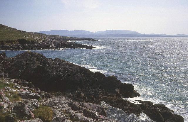 Coastline east of Castlecove