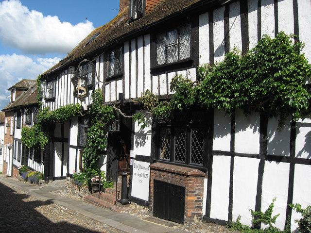 The Mermaid Inn, Rye, Sussex
