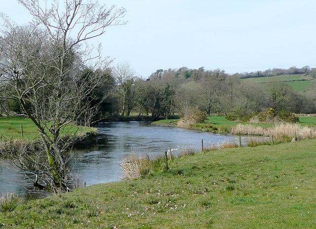 Afon Teifi near Llanddewi-Brefi, Ceredigion