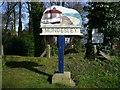 TG3135 : Village Sign by Craig Tuck