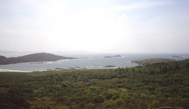 Overlooking Derrynane Bay