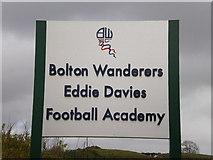 SD6509 : Bolton Wanderers Eddie Davies Football Academy, Sign by Alexander P Kapp