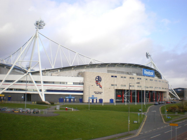 Reebok Stadium, South west side