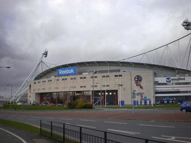 Reebok Stadium, South side