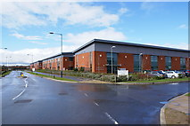 SP2663 : Industrial units at Warwick by Colin Craig