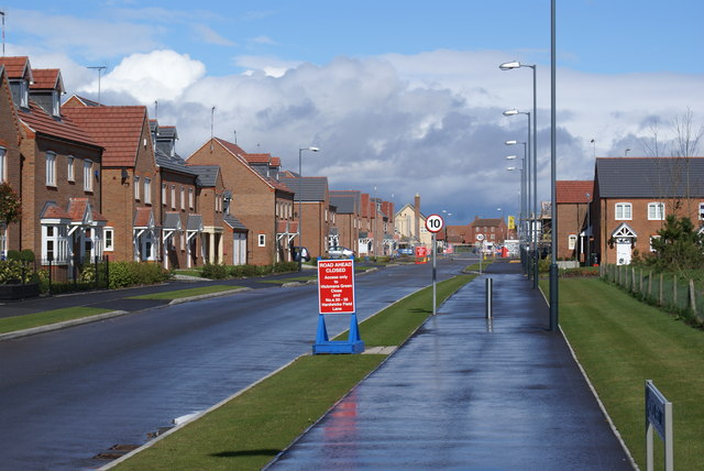 New housing in Warwick
