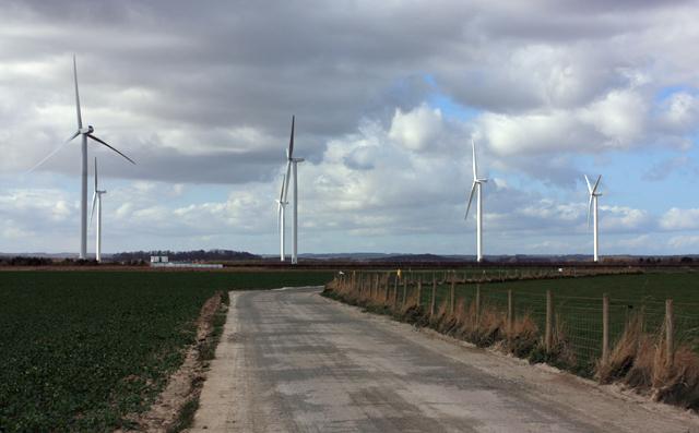 Wind Turbines, Lissett
