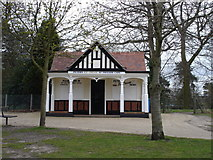 TM1645 : Pavilion in Christchurch park by Oxymoron