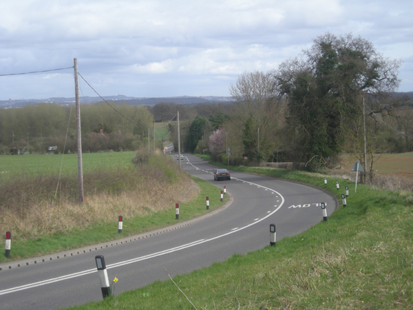 A458 at Four Ashes