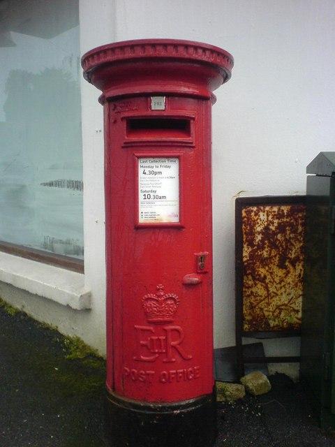 St Columb Road Post Office - Post Box
