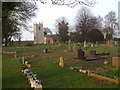 SE8022 : Whitgift Church and the old cemetery by Glyn Drury