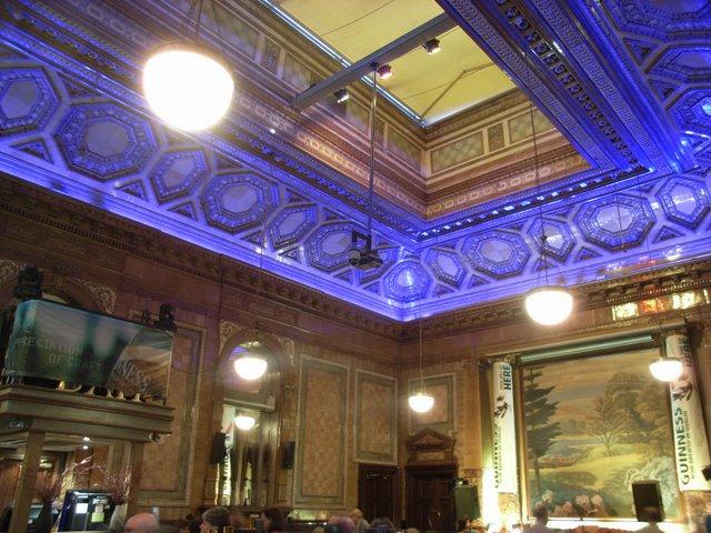 Inside the Centurion Bar on Central Station