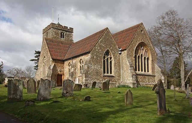 St Martin's Church, Brasted, Kent