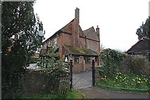 TQ4655 : Public House next to St Martin's Church, Brasted, Kent by John Salmon