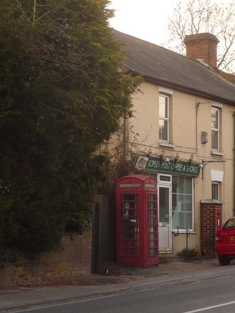 Sopley: the old post office