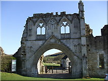 SE7365 : The Gatehouse of Kirkham Priory by Matthew Hatton