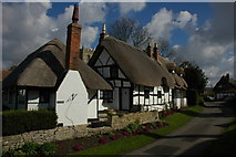 SP1452 : Ten Penny Cottage on Boat Lane by Philip Halling