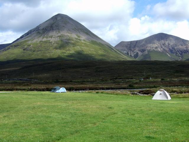 Sligachan campsite