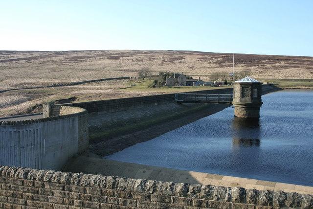 Walshaw Dean Middle Reservoir