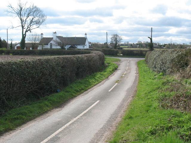 Junction of Lynn Lane and Thornyhurst Lane