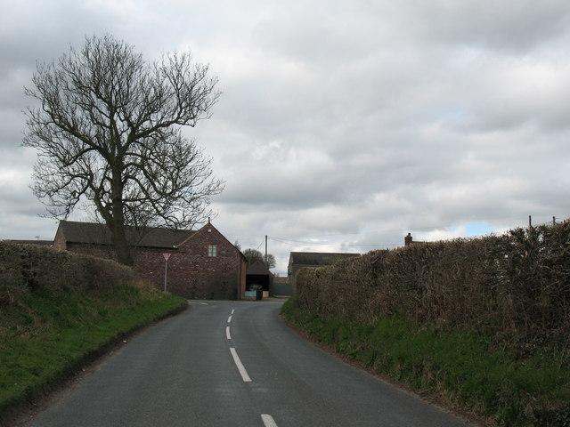 Junction of Lynn Lane and Cartersfield Lane