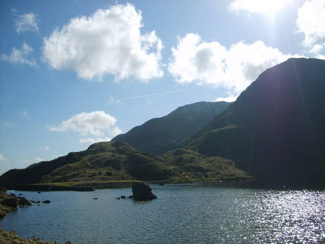 Coniston Old Man from Levers Water