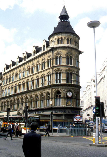 The Mappin & Webb building, London  (as was)