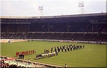 TQ1985 : Inside the old Wembley Stadium by Steve Daniels