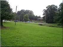 SS9612 : Tiverton : Heathcoat Way Roundabout & Grassy Area by Lewis Clarke