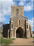 TM1763 : St Mary's Church, Debenham by Andrew Hill
