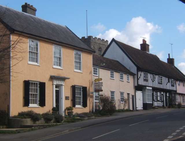 High Street, Debenham