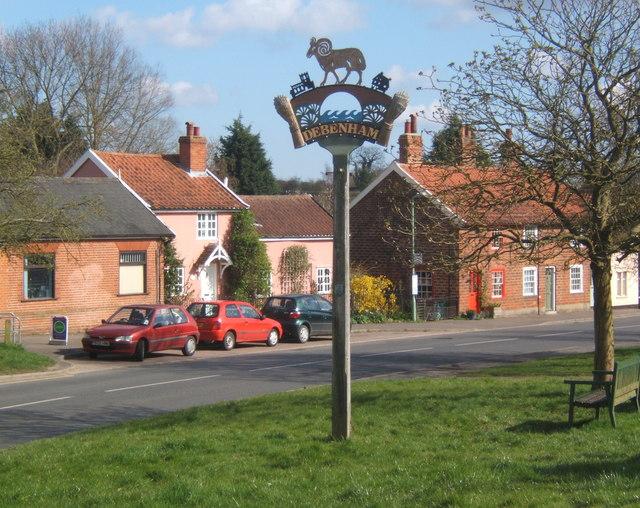 Debenham village scene