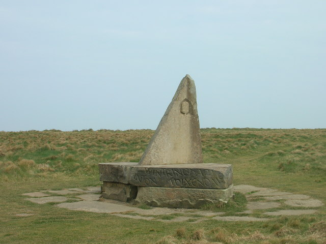 End of Wold's Way Marker