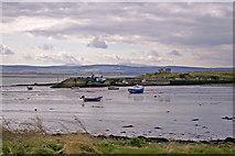 NU1341 : Steel End, Holy Island, Northumberland by Christine Matthews