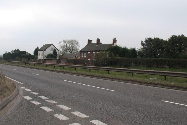 Houses, A5 Watling Street