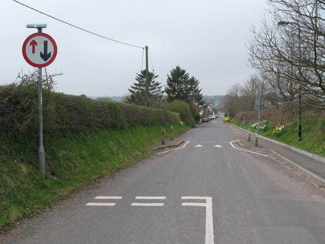 Traffic calming, (original) Watling Street