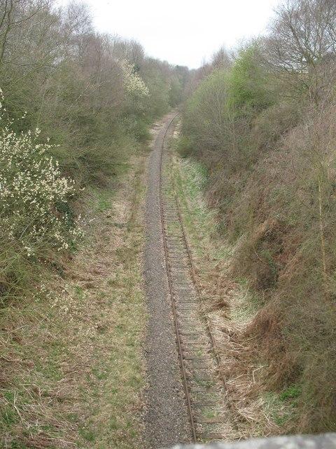 Railway line, Wall Lane