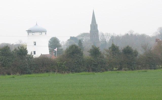 Former Windmill and St. John's Church